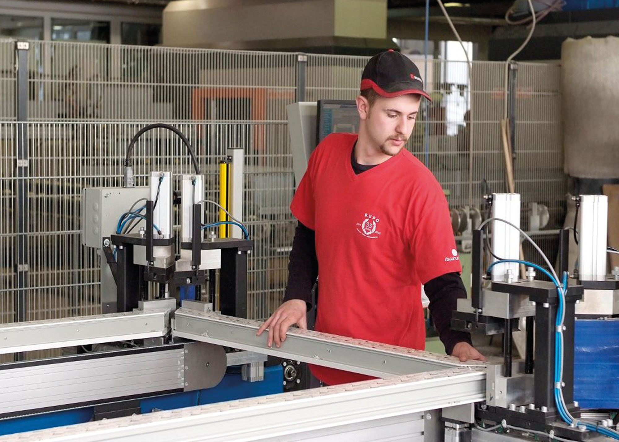 RUPO Fenster Produktion - Schweissen