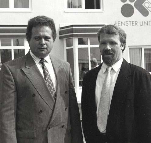 Willi Rudolf & Johann Posch - Gründer von RUPO