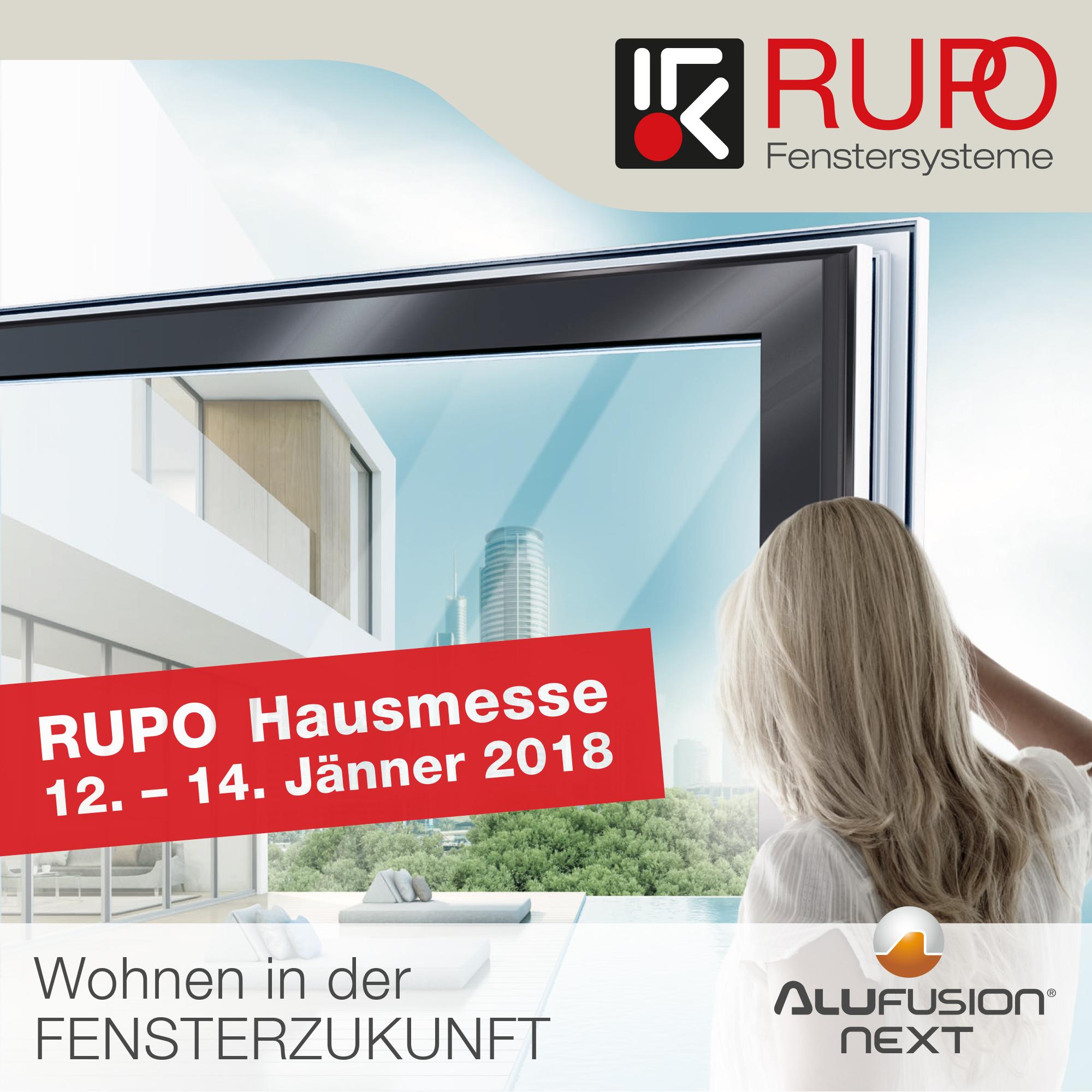 RUPO Hausmesse 2018